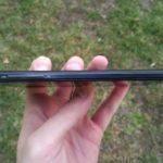 iNew V3 Plus – pravý rám telefonu, kolébka hlasitosti