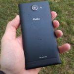 iNew V3 Plus – zadní strana telefonu