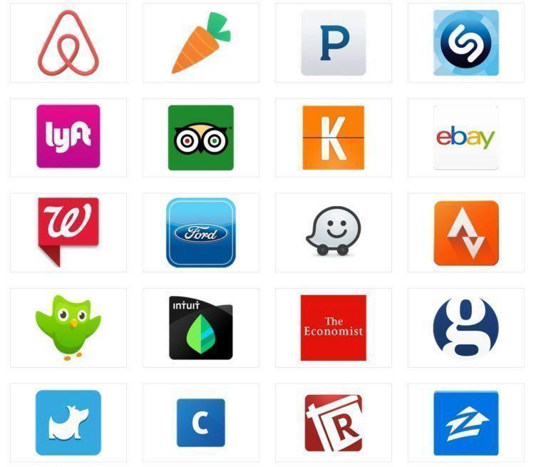 Seznam všech podporovaných programů najdete na stránce Google Now integrations