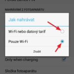 Způsob připojení k síti