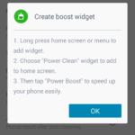 Popis widgetu