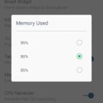 Práh obsazení RAM