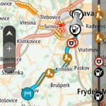 Trasa z Ostravy do Mošnova