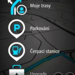 Parkování a čerpací stanice