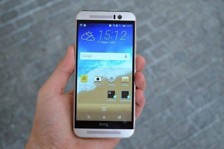 HTC One M9 - konstrukce (1)