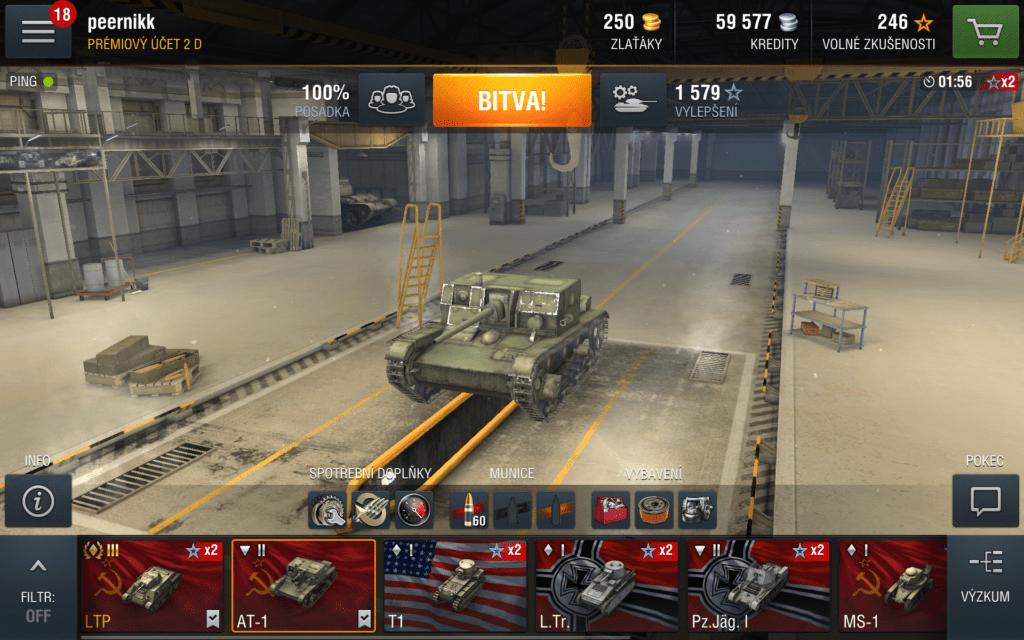 World of Tanks Blitz - tankové bitvy v mobilní podobě