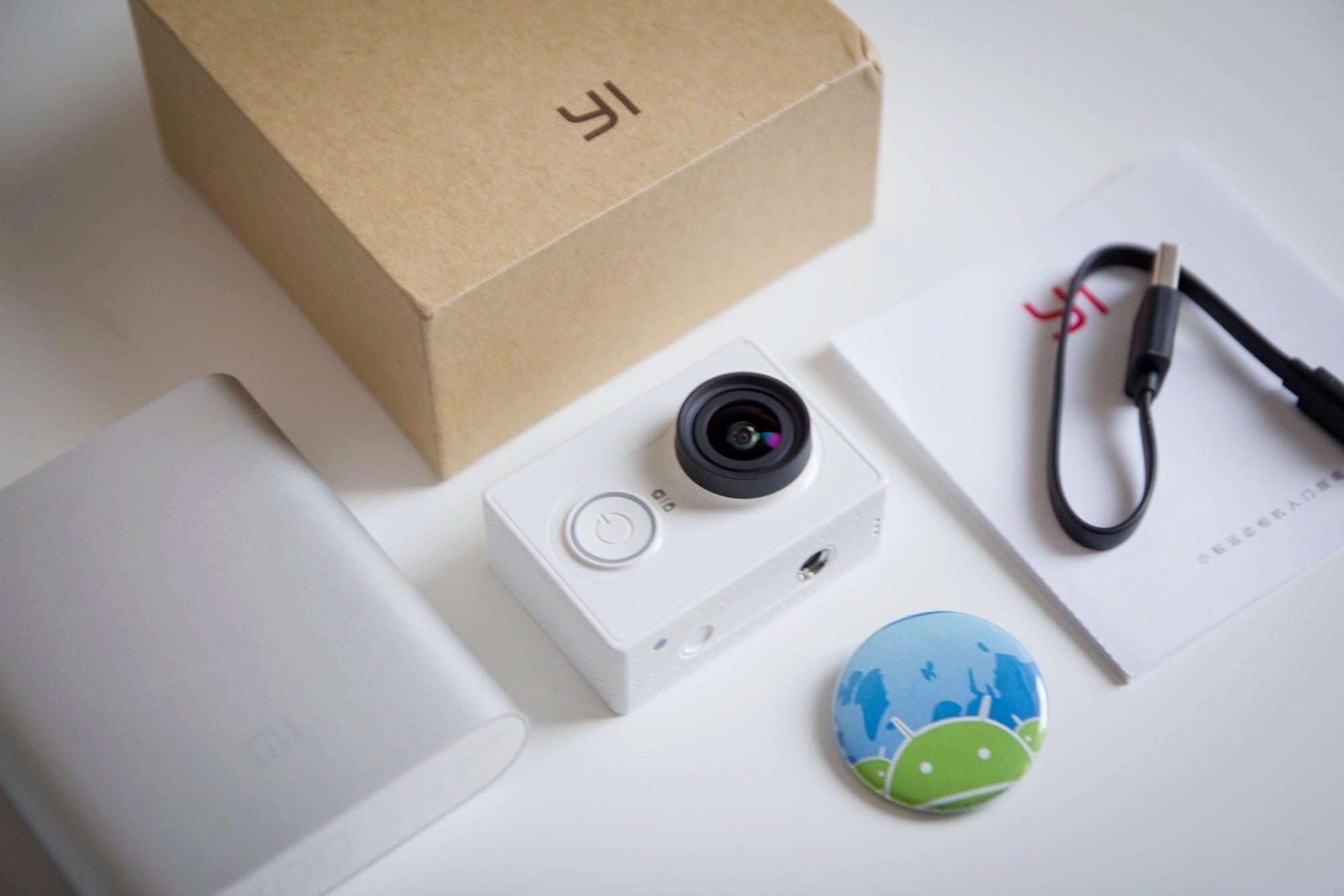 Xiaomi Yi – obsah balení