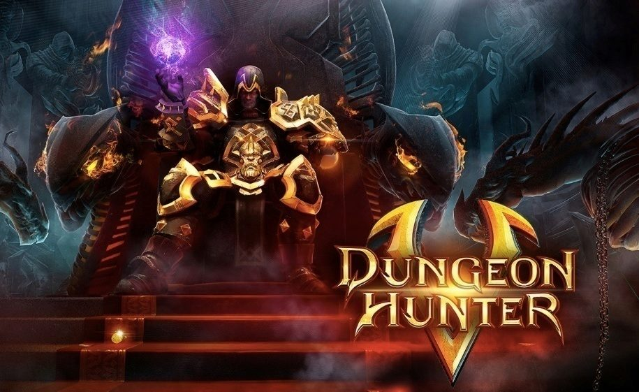 dungeon hunter 5 hlavni