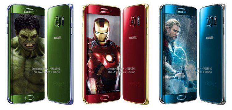 samsung galaxy s6 edge avengers 1
