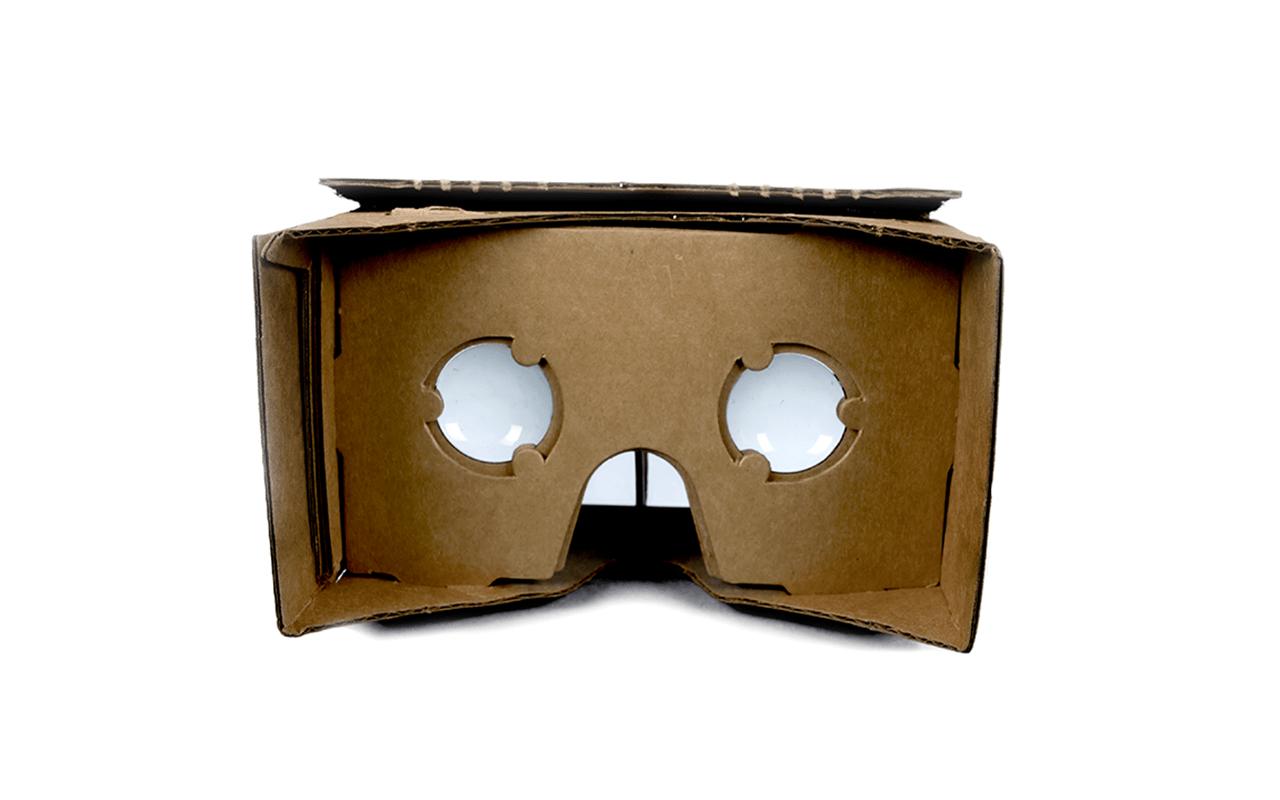 google cardboard virtální realita