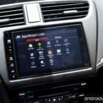 Android v Hondě Civic 2015