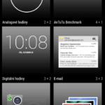 inew v3 plus – uživatelské prostředí, widgety