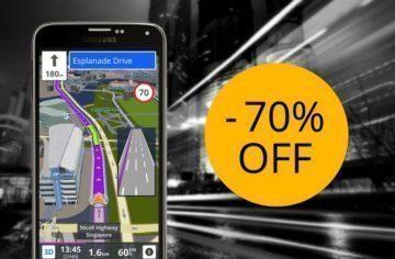 Navigace Sygic GPS přichází se 70% slevou