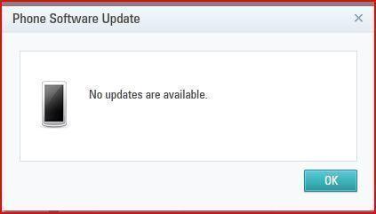 no update čínské telefony