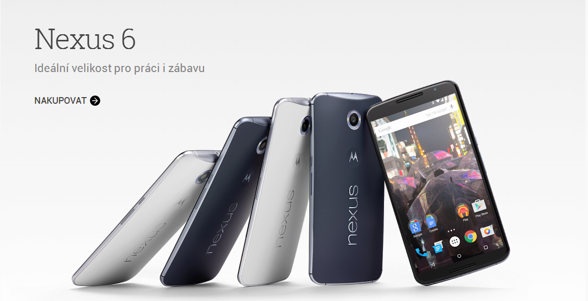 Telefon Nexus 6