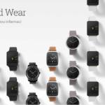 Hodinky se systémem Android Wear