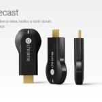 Přijímač Chromecast