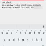 Zadejte jména kontaktů