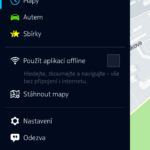Offline navigace HERE