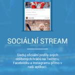 Oficiální profily týmů a hráčů na sociálních sítích