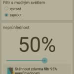 50% neprůhlednost