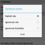 Režim aplikace