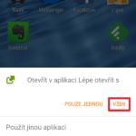 Otevřít v aplikaci Lépe otevřít s VŽDY