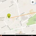Geocaching Intro - navigace mapou