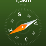 Geocaching Intro - navigace kompasem