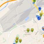 Geocaching - keše v mapě