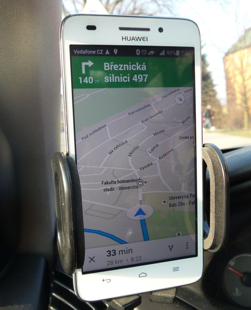 Huawei G620s GPS navigace