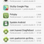 Ascend G620s spuštěné app