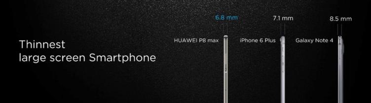 Huawei P8 Max - tělo 2
