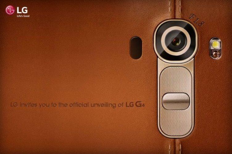 Telefon LG G4 byl představen 28. dubna