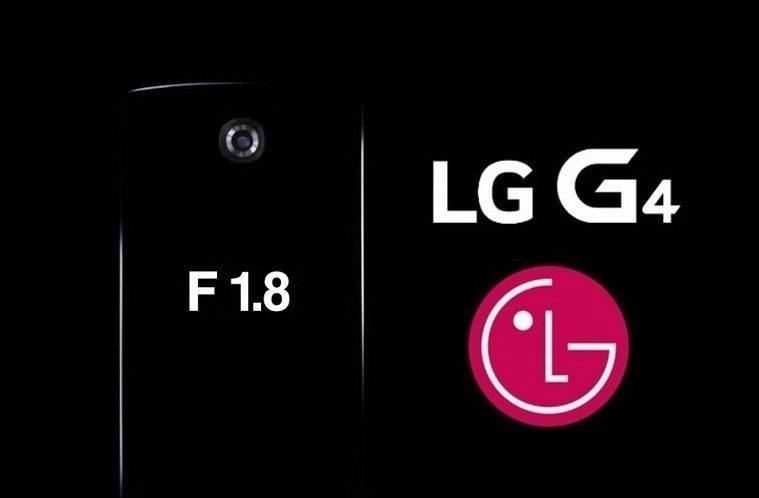 LG G4 fotoaparát