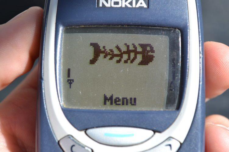Nokia 3310 - domácí obrazovka