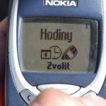 Nokia 3310 – hodiny