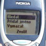 Nokia 3310 –  menu telefonu (1)