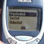 Nokia 3310 –  menu telefonu (2)