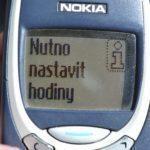 Nokia 3310 – upozornnění