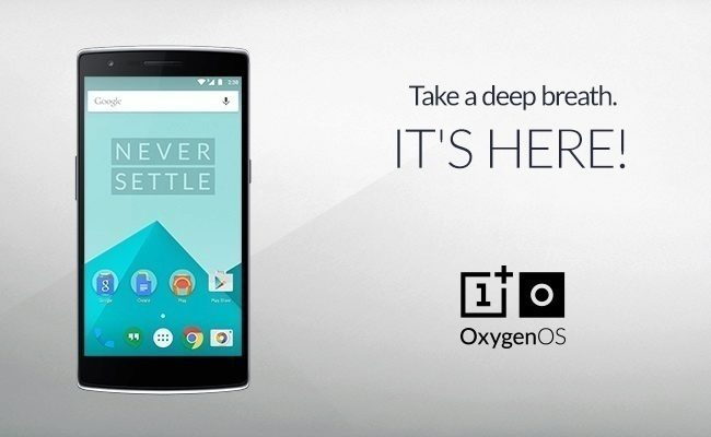 OxygenOS OnePlus titul