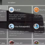 Sony Xperia E4g – aplikace fotoaparát, efekty