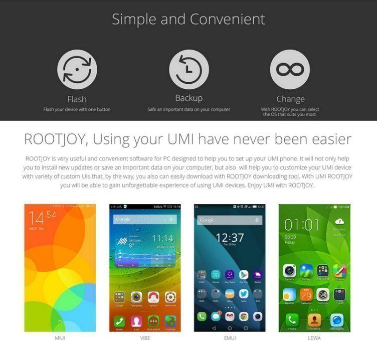 UMi Rootjoy 1