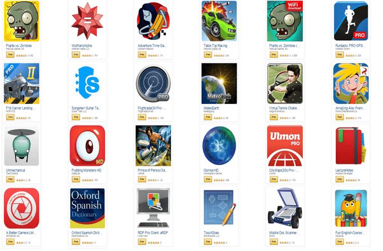 amazon aplikace