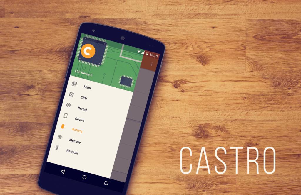 castro Android aplikace