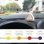 Air Mentor můžete použít v autě