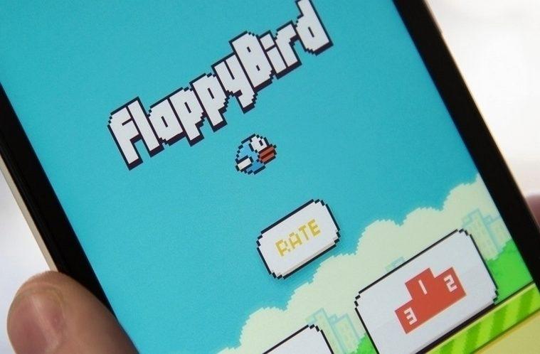 flappy bird hlavni