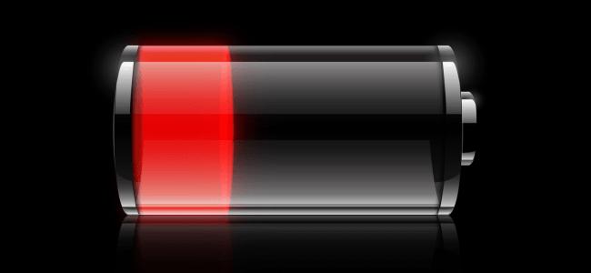 ideální telefon baterie