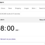 Nastavení budíku v telefonu přes Google