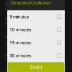 Detection Cooldown